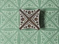 Blockwallah Stempel - Dotted Square