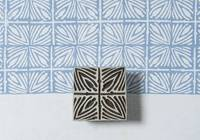 Blockwallah Stempel - Square Pattern 3