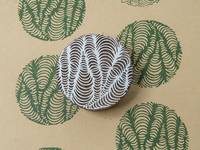 Blockwallah Stempel - Fancy Circle