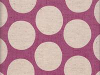 Wachstuch Big Dots 150 pink