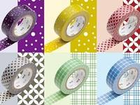 Washi Tape Wamon 6er Set B 15mm