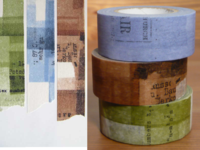 Washi Tape Collage 3er Set 22mm