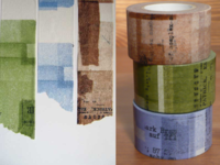 Washi Tape Collage 3er Set 30mm