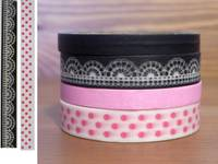 Washi Tape Harajuku 4er Set