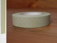 Washi Tape dots ash pink 13mm