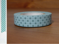 Washi Tape dots water 13mm
