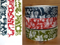 Washi Tape forest of squirrel 3er Set 15mm