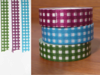 Washi Tape gingham 3er Set 15mm