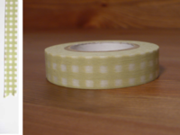 Washi Tape gingham nekoyanagi 13mm