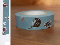 Washi Tape girls asagi 15mm
