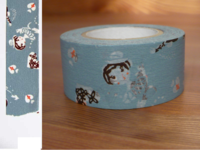 Washi Tape girls asagi 24mm