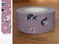 Washi Tape girls asamurasaki 24mm