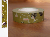 Washi Tape girls yomogi 15mm