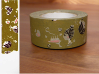 Washi Tape girls yomogi 24mm