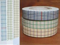 Washi Tape grid 3er Set 12mm
