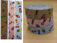 Washi Tape kokeshichan 3er Set 15mm