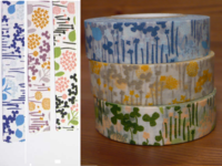 Washi Tape little garden 3er Set 15mm