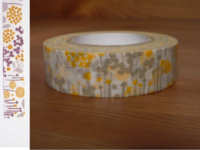 Washi Tape little garden beige 15mm