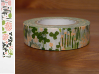 Washi Tape little garden green 15mm