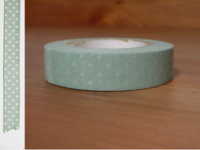 Washi Tape pin dots mizuhanada 13mm