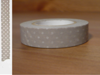 Washi Tape pin dots sakuranezu 13mm