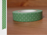 Washi Tape pin dots yomogi 13mm