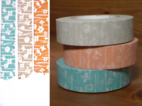 Washi Tape small flower 3er Set 15mm