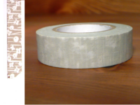 Washi Tape small flower grey 15mm