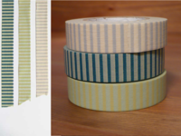 Washi Tape stripes 3er Set 13mm