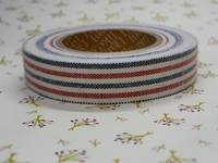Fabric Tape stripe mix 15mm