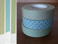 Washi Tape dots 3er Set 13mm