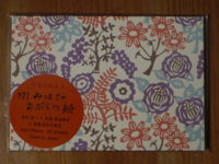 Facial oil blotting paper. Flower garden