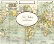 File Folders World Map 3er Set