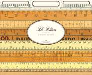 File Folders Vintage Rulers 3er Set