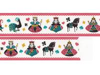 Wide Washi Tape Playing Card 38mm