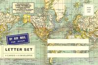 Letter Set World Map
