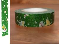 Washi Tape love letter green 15mm