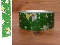 Washi Tape love letter green 22mm