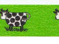 Washi Tape Lisa Larson - cow 15mm
