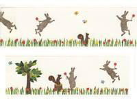 Washi Tape mt ex Kasaneru - Rabbit & Squirrel 30mm