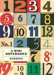 Mini Notebook Numbers 3er Set