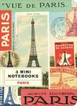 Mini Notebook Paris 3er Set