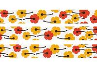 Masking Tape flower 6mm