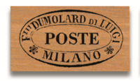 Rubber Stamp Poste Milano