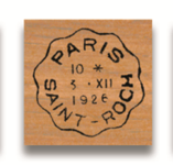 Rubber Stamp Paris Saint-Roch