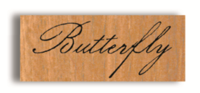 Rubber Stamp Butterfly