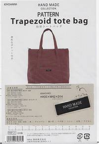 Schnittmuster Trapezoid tote bag
