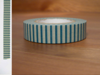 Washi Tape stripes nakahanada 13mm